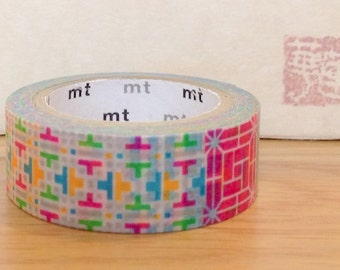 mt limited edition washi masking tape - traditional Korean pattern