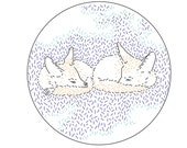 Dreaming Foxes PDF Embroidery Pattern