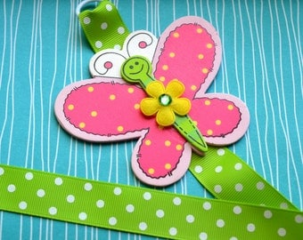 Bright Butterfly Bowholder