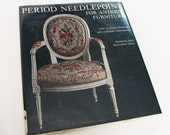 Period Needlework for Antique Furniture Vintage Book Jarry Dobry Home Decor Sewing Jacobian Crewel Tapestry Embroidery