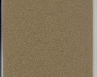 Pure Wool Felt Sheet - Mouse Brown - Various Sizes
