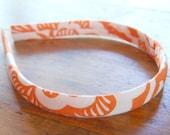 evie lala tangerine headband