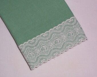 Vintage Light Green Towel