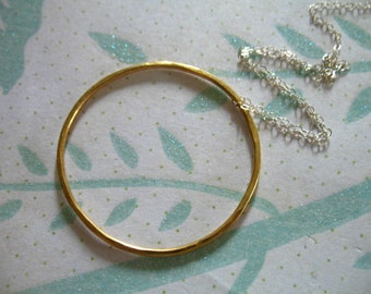 Shop Sale 1 5 10 pc, Eternity Circle Infinity Circle Pendant Charm Link, HAMMERED, 24k Gold Vermeil, 35 mm, 1.5 in, vjr35mm.v2 solo