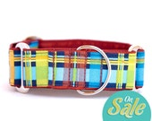 "SALE!!! Martingale Collars in various sizes - ""Que Sero Sero"" - Greyhound Collars"
