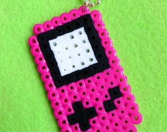 Pink Game Boy Necklace