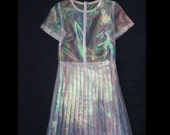 Clear Iridescent Dress (RESERVED FOR JULIA)