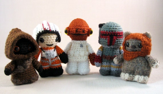 Amigurumi Star Wars Patterns Free : Kit amigurumi star wars kalulu for