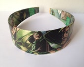Green Arrow Headband
