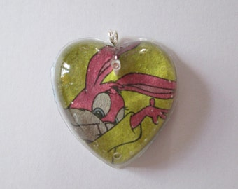 Tiny Toons Babs Heart Necklace
