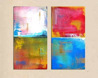 urban skies- 24 x 24, original modern contemporary acrylic PAINTING canvas, abstract art