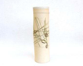 hand built porcelain vessel