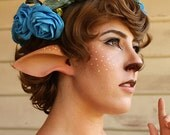 Faun Ears or Satyr Ears-- handmade, latex ear tips, great for cosplay, costumes, Mr Tumnus