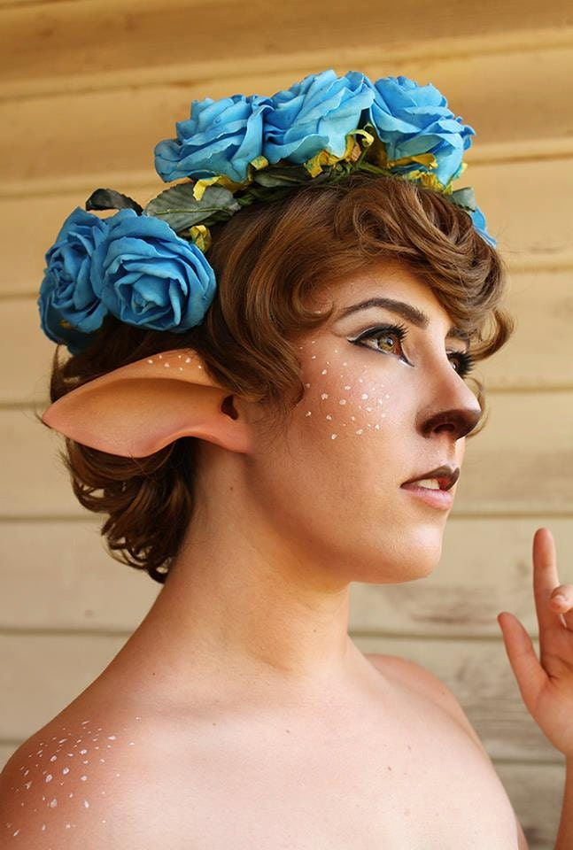 faun ears or satyr ears handmade latex ear tips great for