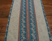 Civil War Fabric Table Runner