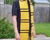Hufflepuff Colors Scarf Third Year