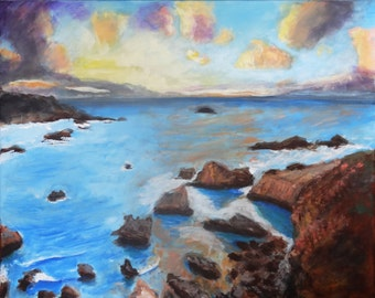 Original Painting Peaceful Cove by Brenda Walden