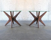 PAIR 60s ADRIAN PEARSALL Jacks End Tables