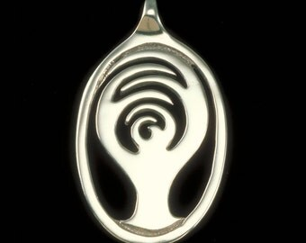 Bodhi Tree Pendant (Sm), Bodhi Tree Necklace, Yoga & Meditation Collection, K Robins Designs