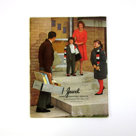 SHOP SALE // Jewel Home Shopping Service 1961 Fall Winter Catalog / Mad Men Era Housewares and Fashions