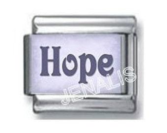 Hope Italian Charm for your Italian Charm Bracelet