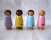 The Sweet Sisters Little Peg doll Play set