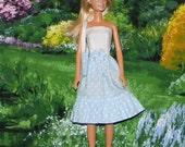 BS-24 ) barbie dress with bag