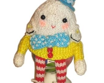 HUMPTY Dumpty Egg Cosy PDF Email Crochet PATTERN