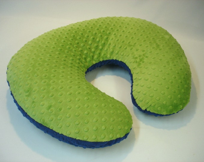 Boppy Pillow Cover Nursing Pillow Jade Green