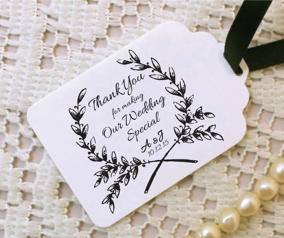 Wedding Favor Ribbon Tags : favorite favorited like this item add it to your favorites to revisit ...