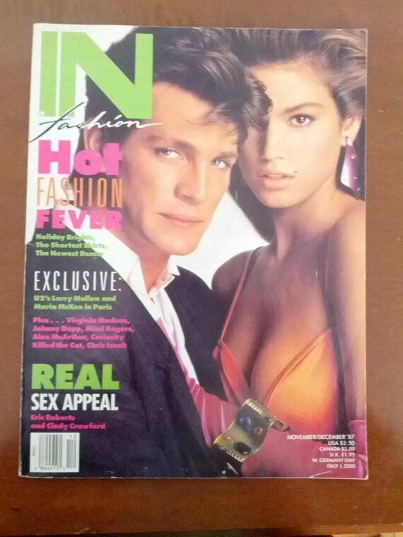 IN Fashion Magazine 80s 1987 Fashion Glam London By