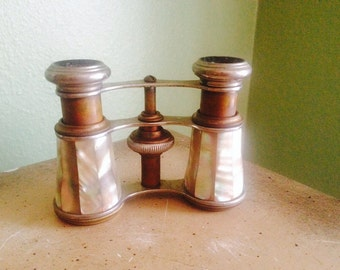 Lamaire Opera Glasses Mother of pearl