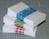 """Coin Envelopes (25) ... White . Mini . Business Card Size . 2.25"""" x 3.5"""" . Gummed Flap . Seller Supplies . Seeds . Cards . Scrapbooking"""
