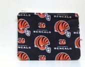 Reusable Sandwich Bag, Kid Snack Bags, Football, Bengals