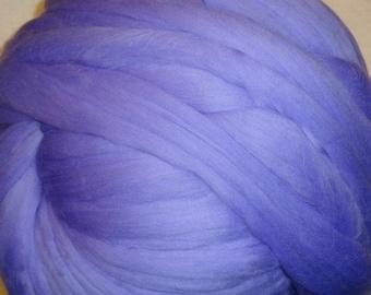 Merino Wool Roving - Periwinkle 8 oz