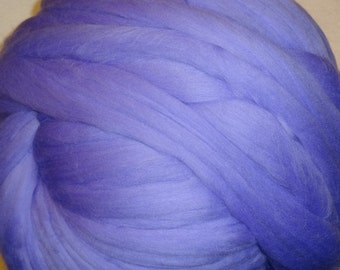 Merino Wool, Wool Roving, Merinoo Roving, Merino Wool Roving, Felting Wool, Spinning Wool - Periwinkle 8 oz