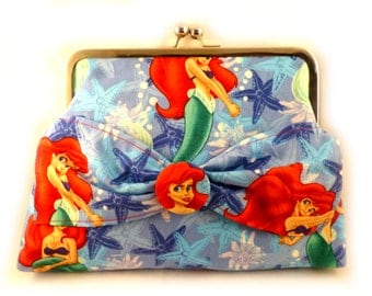 Part of Your World Clutch Purse
