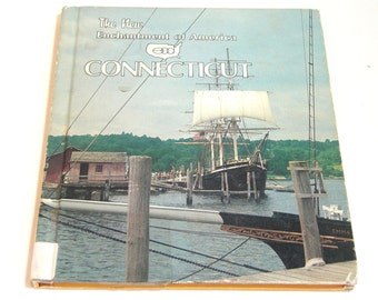 Connecticut, The New Enchantment Of America Series Vintage Childrens Book