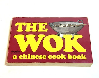 Chinese Wok Cookbook Vintage 1970 By Gary Lee