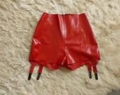 Latex Suspender/Garter Shorts - SALE