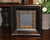 Baroque, Unique, Magnetic Chalkboard (11 1/2 inches square)  Wedding/Home