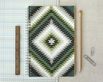 SALE 50% Off - Spiral Notebook, Journal - Toothy
