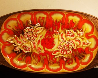 Unavailable listing on etsy for Funky canape trays