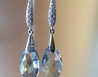 Swarovski Air Crystal Earrings
