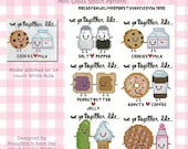 Kawaii Perfect Couple Collection Cross Stitch PDF Chart