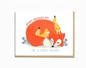 Foxy Mama mother's day card