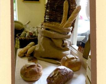 Bread at the Dingle Cheese Shop. Dingle Ireland. Blank Travel Card