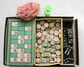 Vintage Unusual Bingo Game