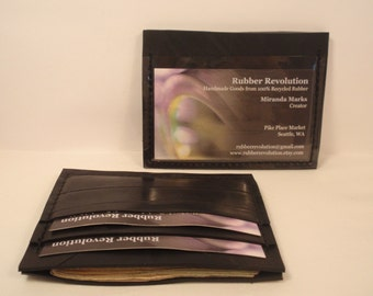 Recycled Rubber ID 4 Wallet
