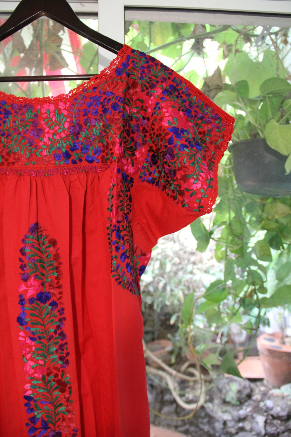 Red and multi colored mexican wedding dress for Multi colored wedding dresses